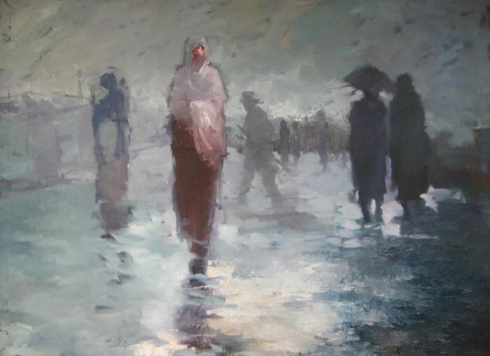 Amare Selfu - walk in the rain