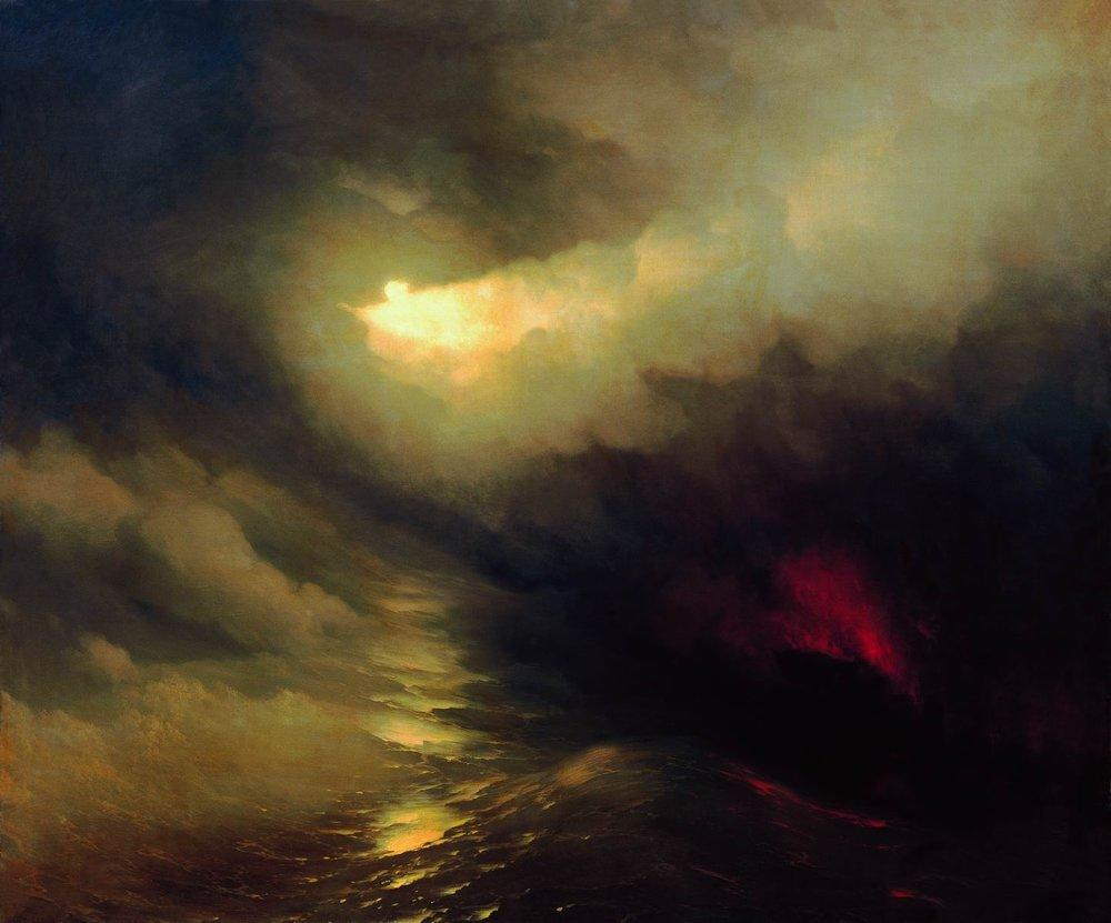 Ivan Aivazovsky - creation of the world 1864