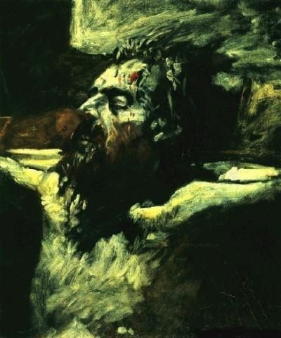 Nikolai Nikolaevich Ge - Christ Head