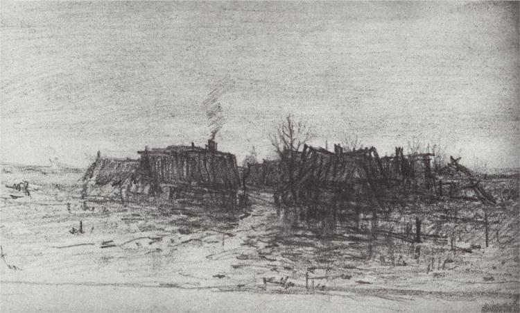 forgotten-village-1873 Arkhip Kuindzhi