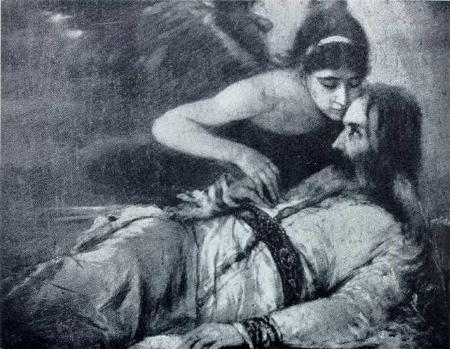 death of czar lazar - djorđe krstić