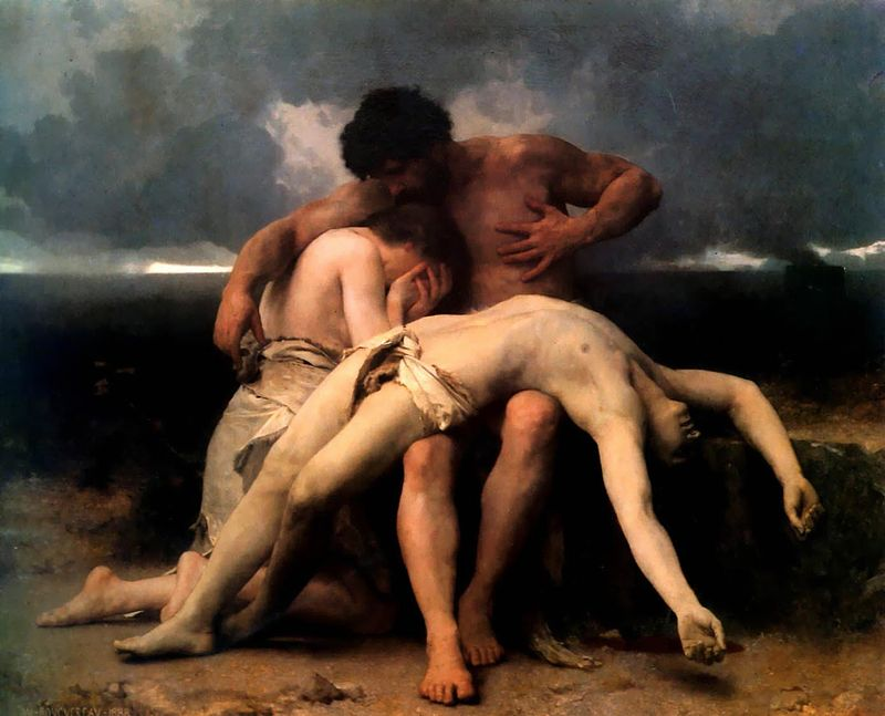 Bouguereau- The First Mourning 1888