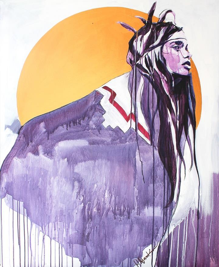 Hannah Adamaszek-aztec