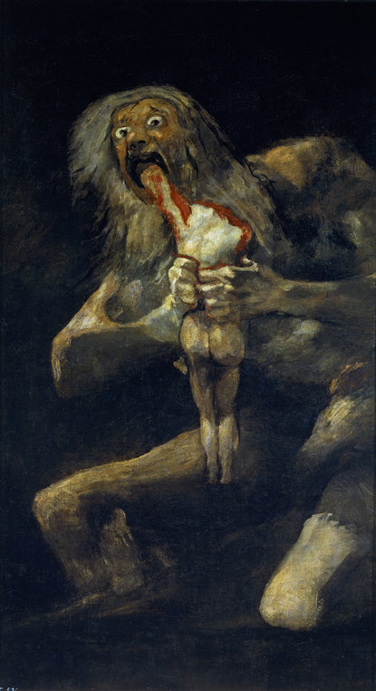 Francisco de Goya - Saturn Devouring His Son