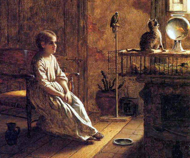 Eastman Johnson- A Child's Menagerie 1859