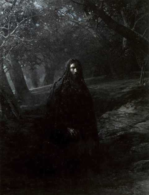 Christ at Garden - Nikolai Ge