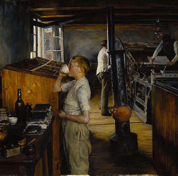 Charles Frederick Ulrich - typesetter at Enschede Haarlem