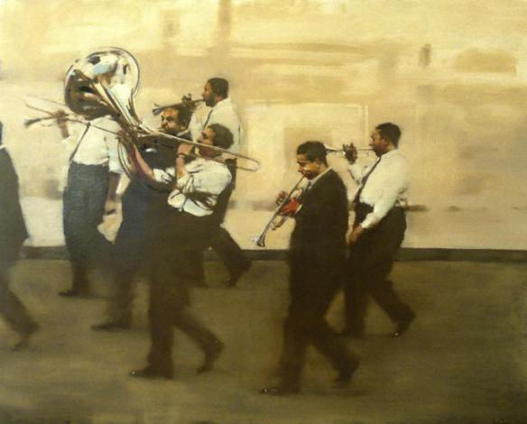 michael carson - saints go marching