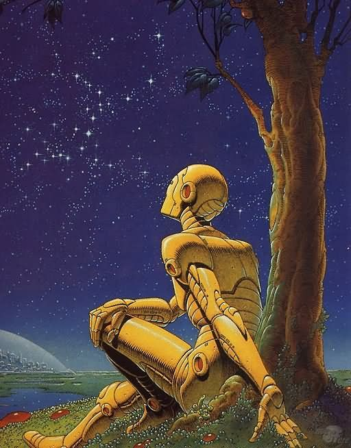 Philippe Caza -The Robot Who Dreams